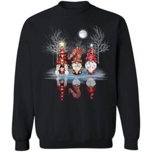 Cool Three Nordic Gnomes Reflection Gnome Tomte Christmas Sweatshirt