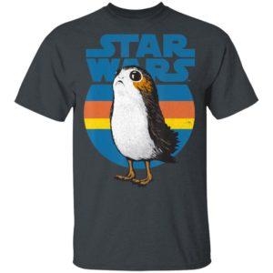 Star Wars Last Jedi Porg Retro Stripes Shirt Hoodie LS