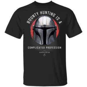 Star Wars The Mandalorian A Complicated Profession Portrait Shirt Hoodie LS