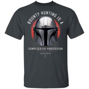 Star Wars Shirt The Mandalorian A Complicated Profession Portrait Hoodie