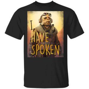 Star Wars The Mandalorian T-Shirt Kuiil I Have Spoken Long Sleeve