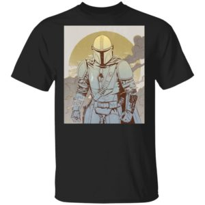 Line Art Poster T-Shirt Star Wars The Mandalorian Hoodie