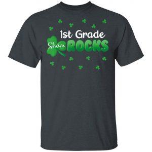 1st Grade Shamrocks St Patricks Day Shirt, Hoodie