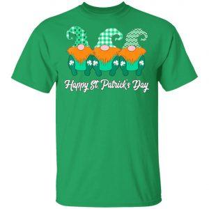 3 Cute Irish Gnomes Leprechauns Happy St. Patricks Day Shirt, Long Sleeve
