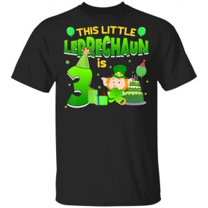 3rd Birthday St. Patricks Day Long Sleeve, Shirt