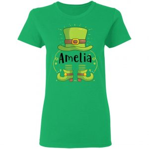 Amelia St Patricks Day Hats T-Shirt, Long Sleeve