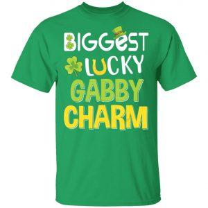 Biggest-Lucky Gabby Charm Saint Patricks Day T-Shirt, Long Sleeve