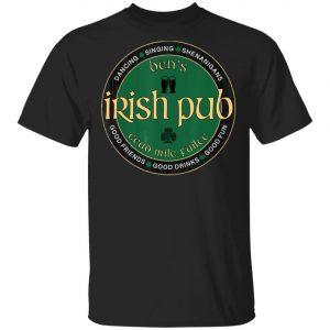 Bens Irish Pub Saint Patricks Day Party T-Shirt, Bella