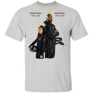 Rip Black mamba and Gigi Bryant T-shirt premium, Long Sleeve