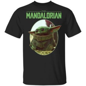 Baby Yoda Shirt Star Wars The Mandalorian The Child Circle Long Sleeve