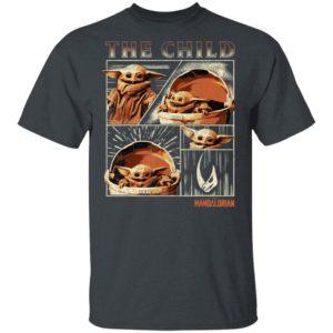 Baby Yoda T- Shirt Star Wars The Mandalorian The Child Collage Hoodie
