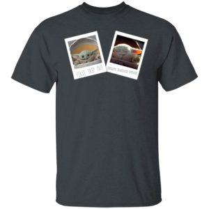 Baby Yoda T-Shirt Star Wars The Mandalorian The Child First Memories