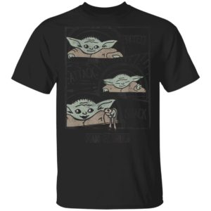 Star Wars The Mandalorian The Child Baby Yoda Protect Attack Snack Shirt Hoodie