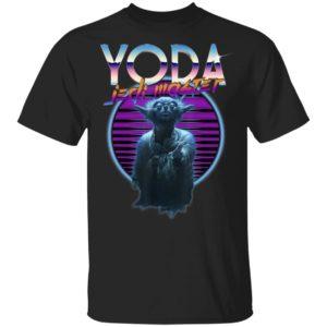 Star Wars Yoda Jedi Master T- Shirt The Ultimate Retro 80's