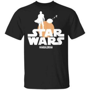 Star Wars The Mandalorian The Child Sunset Baby Yoda Shirt Hoodie
