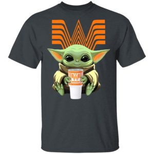 Baby Yoda Drink Whataburger Star Wars Shirt Hoodie LS