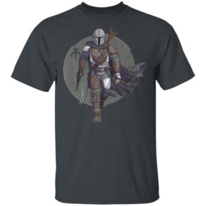 Star Wars Shirt The Mandalorian Hero Pose