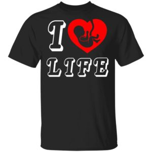 Steve The Missionary I Heart Love Life Anti Abortion Shirt Hoodie Long Sleeve
