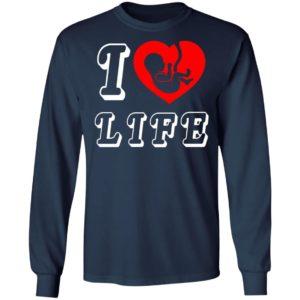 Steve The Missionary I Heart Love Life Anti Abortion Shirt Hoodie Long Sleeve