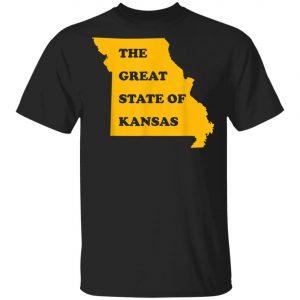 Kansas City The Great State Of Missouri T-Shirt, Hoodie, LS