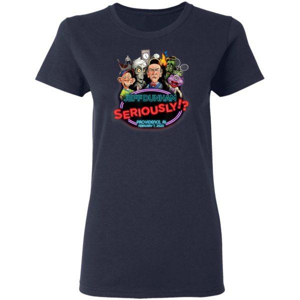 Jeff Dunham Providence, RI T-Shirt, Hoodie, LS
