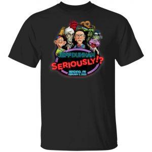 Jeff Dunham Reading, PA T-Shirt, Hoodie, LS