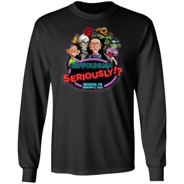 Jeff Dunham Newark, NJ T-Shirt, Hoodie, LS