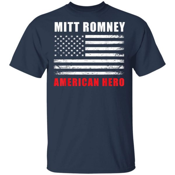 Mitt Romney American Hero 2020 Tees T-Shirt, Hoodie, LS