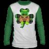 Shamrock Leprechaun Dachshund St Patricks Day T-Shirt, Hoodie, Long Sleeve