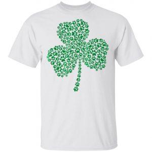 Dog Paw Shamrock St Patricks Day Premium T-Shirt, Long Sleeve, Hoodie