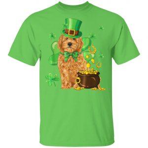 Goldendoodle St Patricks Day Irish Dog T-Shirt, Long Sleeve, Hoodie