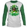 Shamrock Rottweiler St Patricks day Costume T-Shirt, Hoodie, Long Sleeve