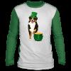 Lucky American Shepherd St Patricks Day T-Shirt, Long Sleeve, Hoodie