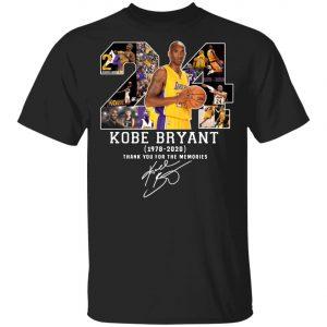 Legends Never Die RIP KOBE Bryant 24 Memories Hoodie, Shirt, Long Sleeve