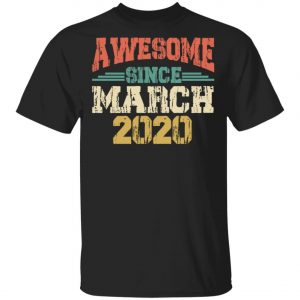 Awesome since March 2020 - International Womens Day T-Shirt, Long Sleeve