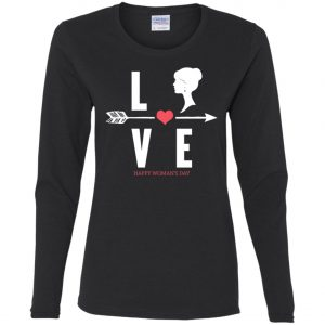 Love 8th March 2020 - International Womens Day T-Shirt, Long Sleeve