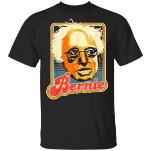 Bernie Sanders Retro Style T-Shirt, Long Sleeve, Hoodie