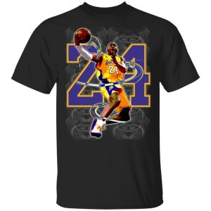 RI.P Kobe Bryant The Great Player in 24 T-Shirt, Long Sleeve