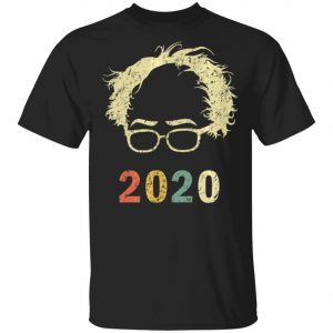Bernie 2020 Glasses Hair Bernie Sanders T-Shirt, Long Sleeve, Hoodie