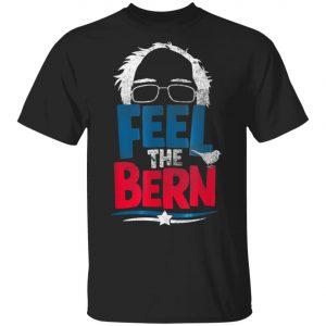 Bernie Sanders Feel The Bern Hair Bird Birdie 2020 T-Shirt, Long Sleeve, Hoodie