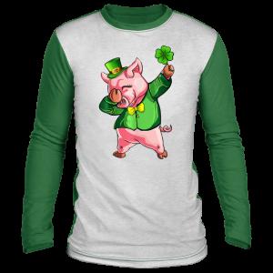 Dabbing Pig Lovers Irish Shirt St Patricks Day Shamrock T-Shirt, Long Sleeve, Hoodie