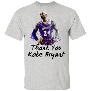 Rip Kobe Bryant Thank You Kobe Shirt, Long Sleeve