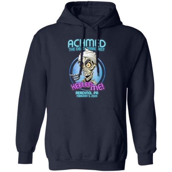 Achmed The Dead Terrorist Newark, NJ T-Shirt, Hoodie, LS