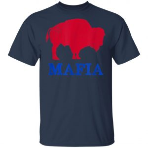 Bills Mafia 716 Buffalo New York BFLO WNY Blue Red T-Shirt, Hoodie, LS