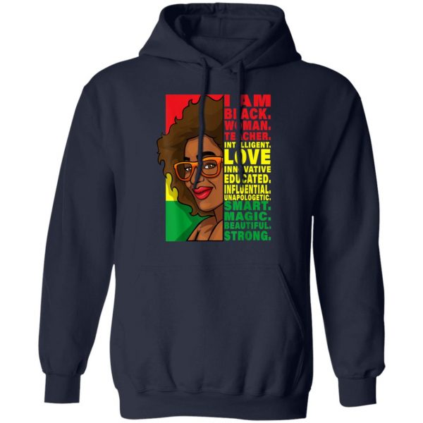 Black History Month Teacher Women African Teachers Glasses T-Shirt, Hoodie, LS