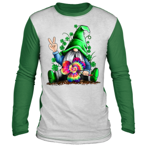 Gnomes Lucky St Patricks Day for Men Women Kids T-Shirt, Long Sleeve, Hoodie