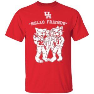 Hello Friends Houston Jim Nantz Shirt – Houston Cougars Shirt