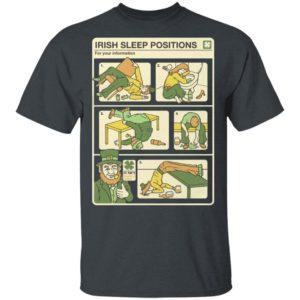 Patricks Day 2020 Shirt - Irish Sleep Position