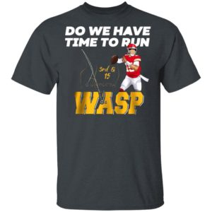 DO WE HAVE TIME TO RUN WASP SHIRT, LONG SLEEVE