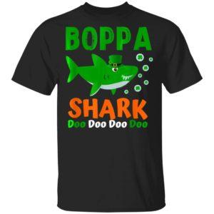Boppa Shark T-Shirt St. Patricks Day T-Shirt